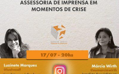 Lives da Retomada: assessoria de imprensa em momentos de crise