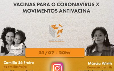 Lives da Retomada: movimentos antivacina