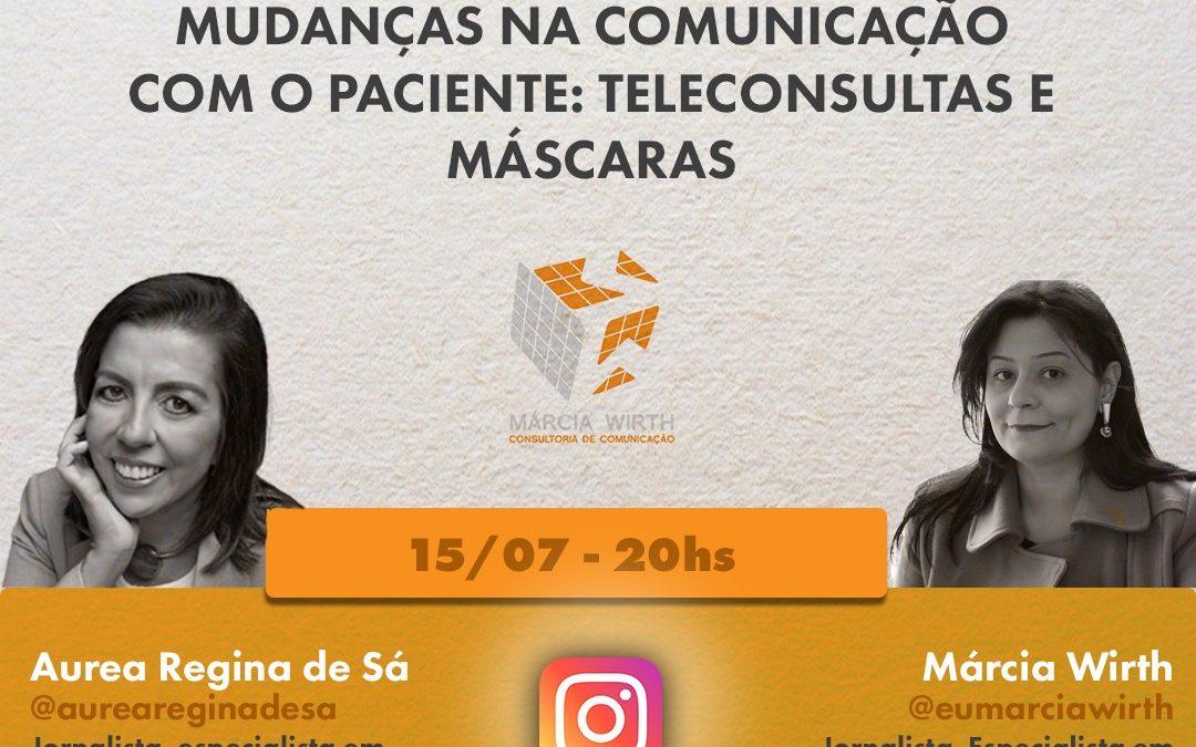 Teleconsulta e máscara : nova comunicação