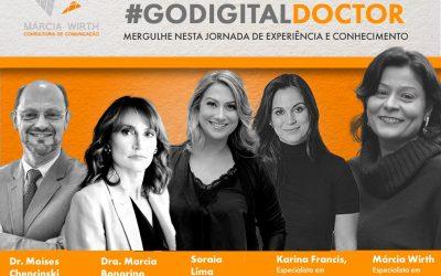Lives #GoDigitalDoctor: programação de outubro