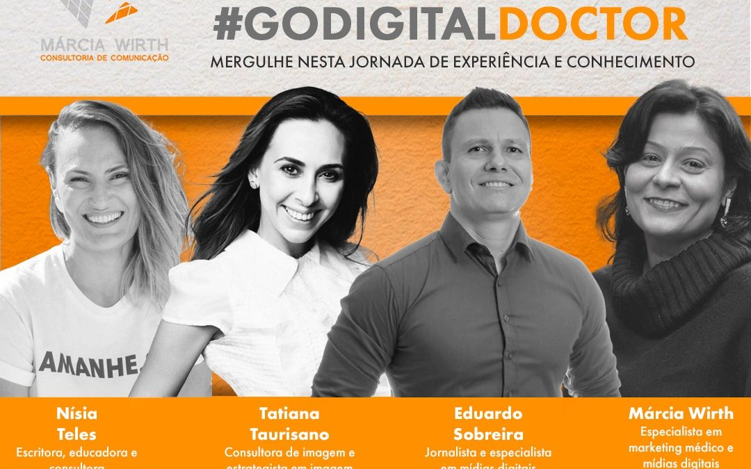 Lives do #GoDigitalDoctor apoiam o médico